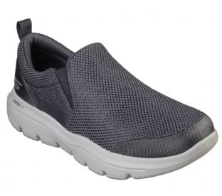 Skechers Mens 54738 CHAR Charcoal Go Walk Evo Ultra Impeccable Slip-On Trainers